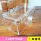 新款上市F5透明塑料食品包�b盒 PS料���w�c心�干�h保盒�F�批�l
